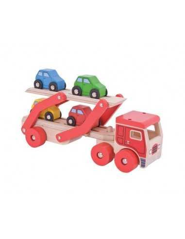 Bigjigs Toys Transporter Lorry