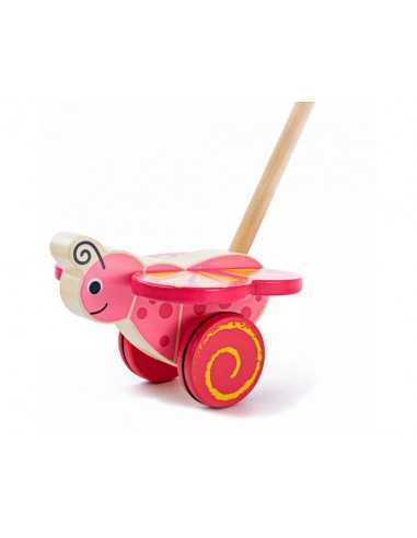 Bigjigs Toys Push Along-Butterfly