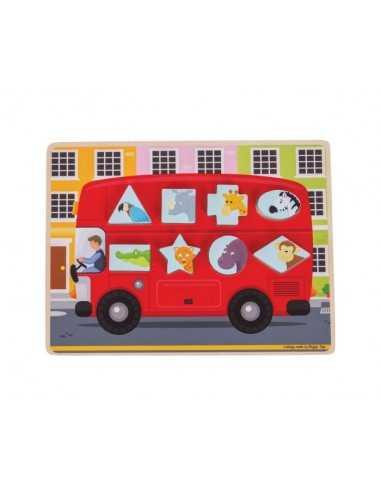 Bigjigs Toys Shape Sorting Bus