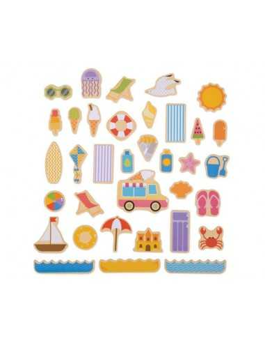 Bigjigs Toys Seaside Magnets