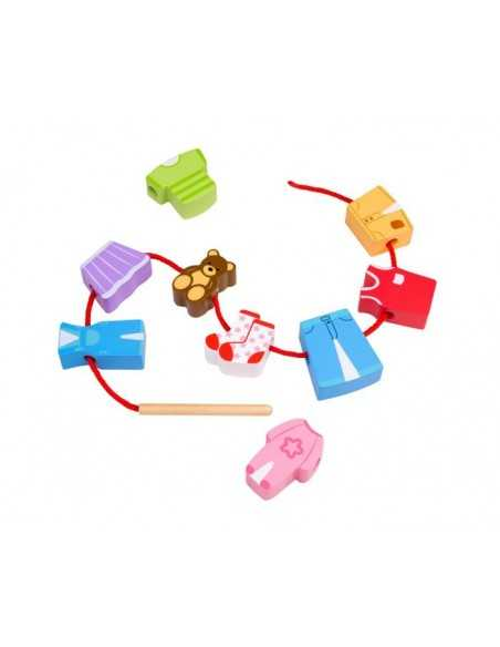 Bigjigs Toys Lacing Laundry Bigjigs Toys