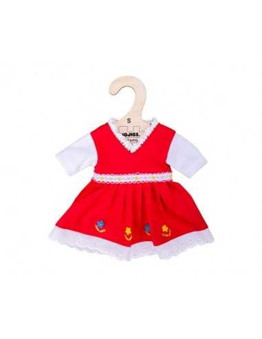 Bigjigs Toys Red Dress With Floral...