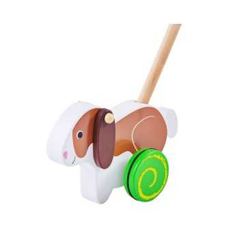 Bigjigs Toys Push Along-Rabbit