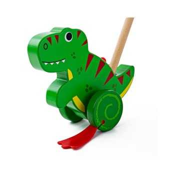 Bigjigs Toys Push Along-T-Rex