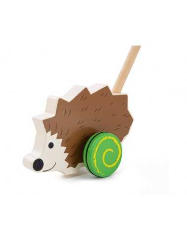 Bigjigs Toys Push Along-Hedgehog