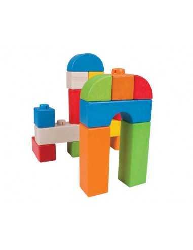 Bigjigs Toys Coloured Click Blocks...