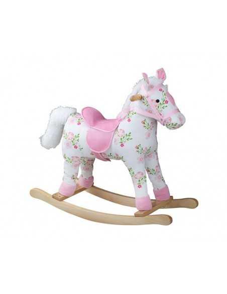 Bigjigs Toys Floral Rocking Horse Bigjigs Toys