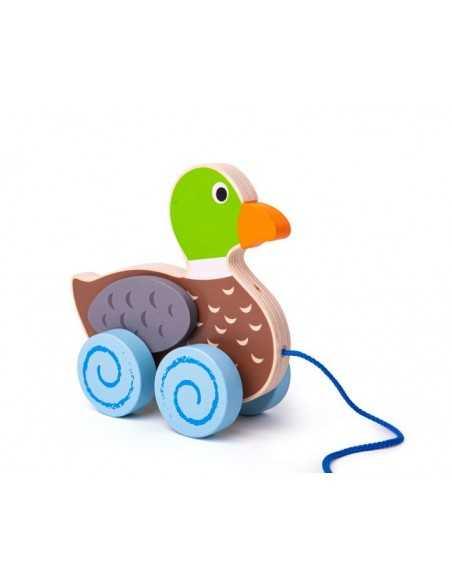 Bigjigs Toys Duck Pull Along Bigjigs Toys