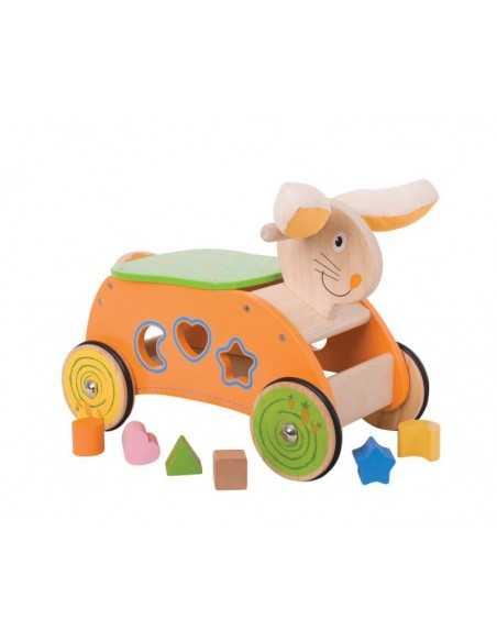 Bigjigs Toys Bunny Ride On Bigjigs Toys