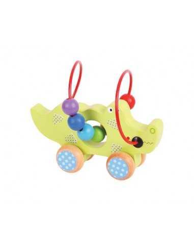Bigjigs Toys Crocodile Push Along...