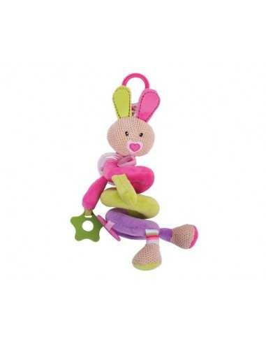 Bigjigs Toys Bella Spiral Cot Rattle