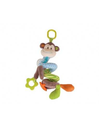 Bigjigs Toys Cheeky Monkey Spiral Cot...