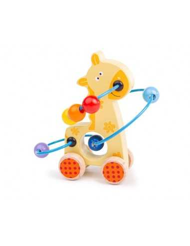 Bigjigs Toys Giraffe Push Along Bead...