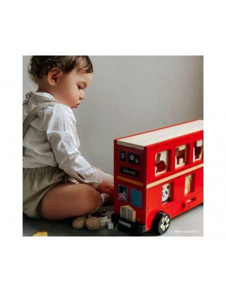 Bigjigs Toys Red Bus Sorter Bigjigs Toys