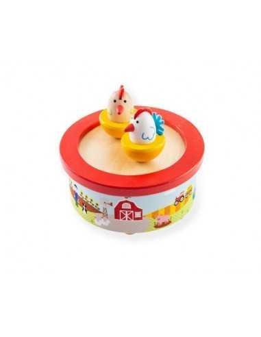 Bigjigs Toys Farm Music Box