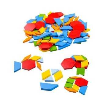 Bigjigs Toys Pattern Tiles