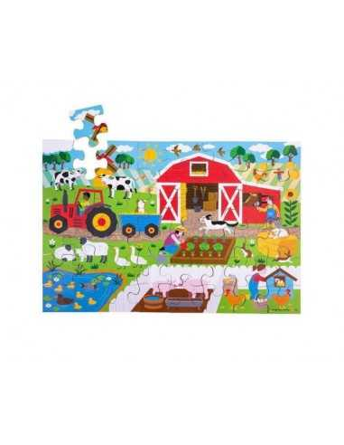Bigjigs Toys Farmyard Floor Puzzle...