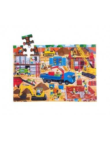Bigjigs Toys Construction Site Floor...