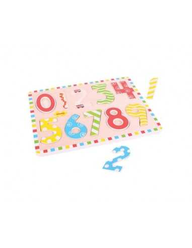 Bigjigs Toys Inset Puzzle Numbers