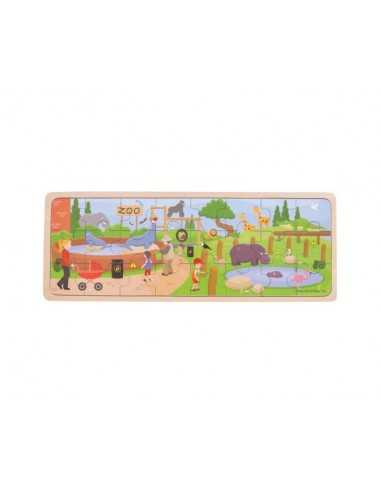 Bigjigs Toys At The Zoo Puzzle