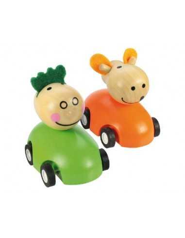 Bigjigs Toys Pull Back Racing Animal...