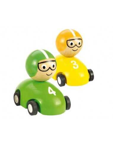 Bigjigs Toys Pull Back Racing Car...