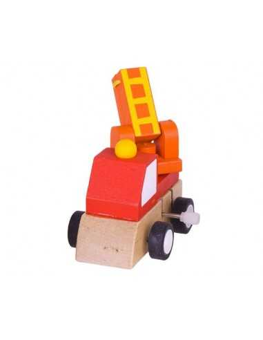 Bigjigs Toys Clockwork Vehicle-Fire...