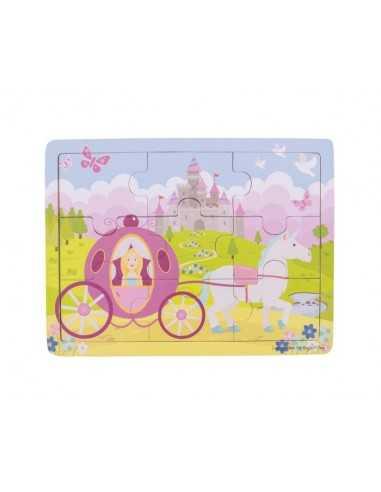 Bigjigs Toys Tray Puzzle-Princess