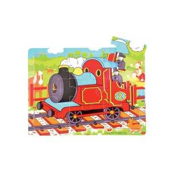 Bigjigs Toys Tray Puzzle Train
