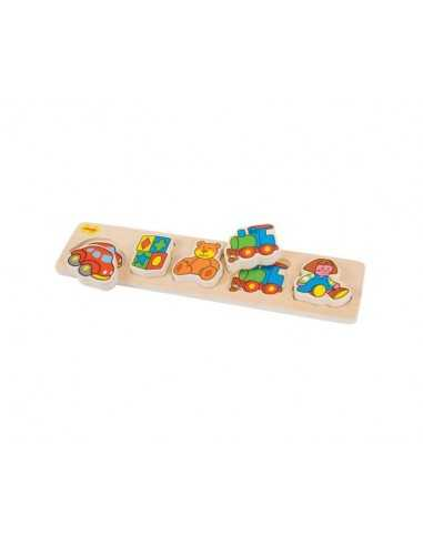 Bigjigs Toys Chunky Lift and Match...