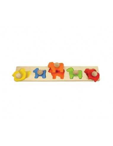 Bigjigs Toys Animal Matching Board