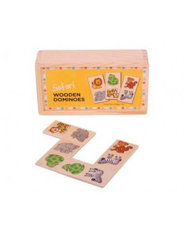 Bigjigs Toys Safari Dominoes
