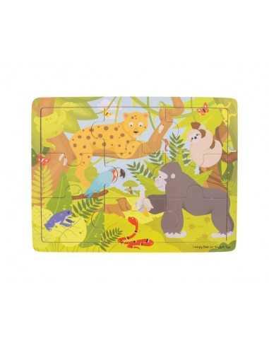 Bigjigs Toys Tray Puzzle-Jungle