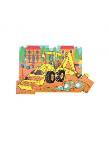 Bigjigs Toys Tray Puzzle Digger