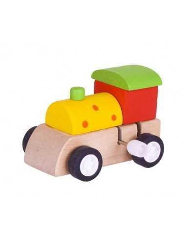 Bigjigs Toys Clockwork Train-Yellow...