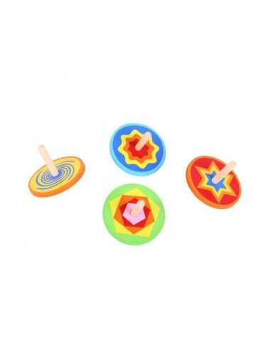 Bigjigs Toys Snazzy Spinning Tops...