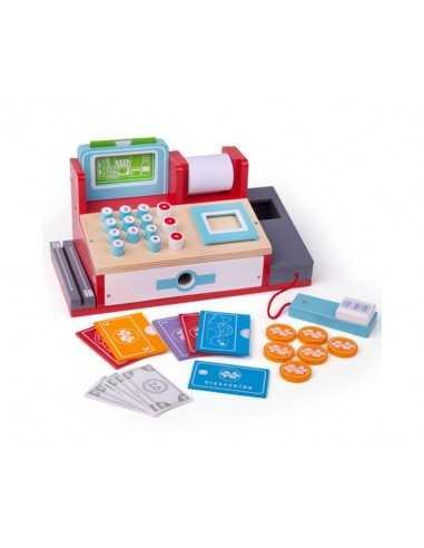Bigjigs Toys Shop Till with Scanner
