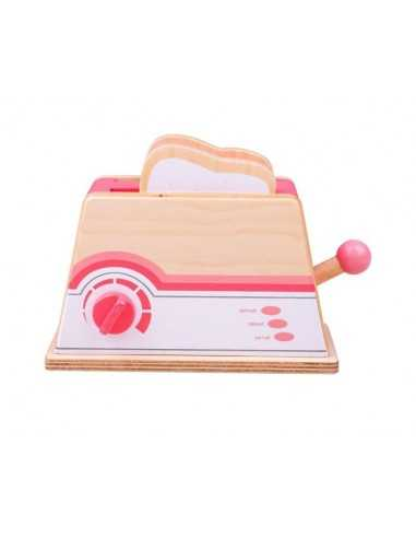 Bigjigs Toys Pink Toaster