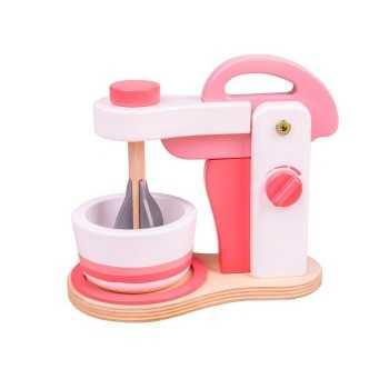Bigjigs Toys Pink Food Mixer
