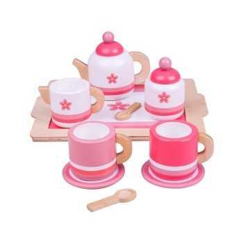 Bigjigs Toys Pink Tea Tray