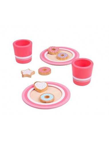 Bigjigs Toys Milk & Cookies