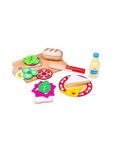 Bigjigs Toys Sandwich Making Set