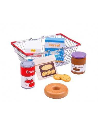 Bigjigs Toys Grocery Basket