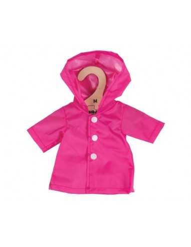 Bigjigs Toys Pink Raincoat (for Size...