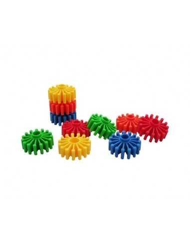 Bigjigs Toys Gear Builder (192 Pieces)