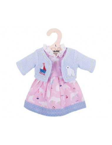 Bigjigs Toys Polar Bear Pink Dress...