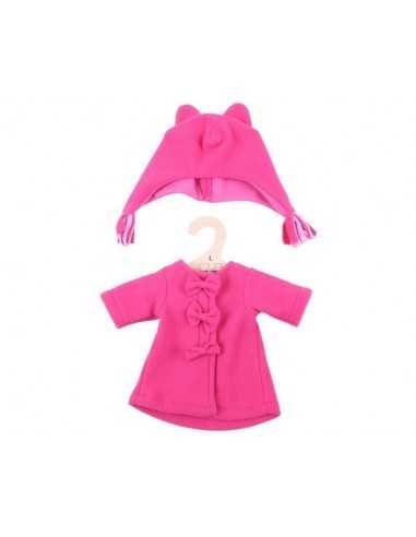 Bigjigs Toys Pink Fleece Coat and Hat...