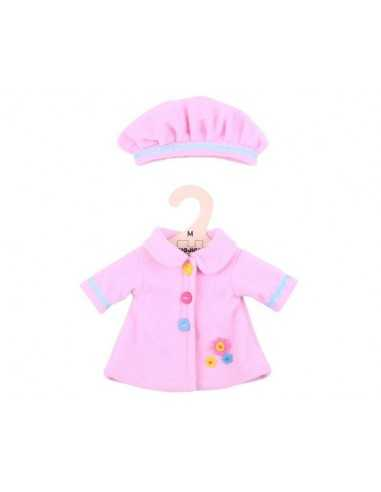 Bigjigs Toys Pink Hat and Coat (for...