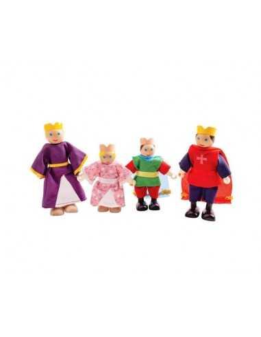 Bigjigs Toys Royal Family Dolls