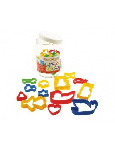 Bigjigs Toys Jar of 24 Pastry Cutters Bigjigs Toys